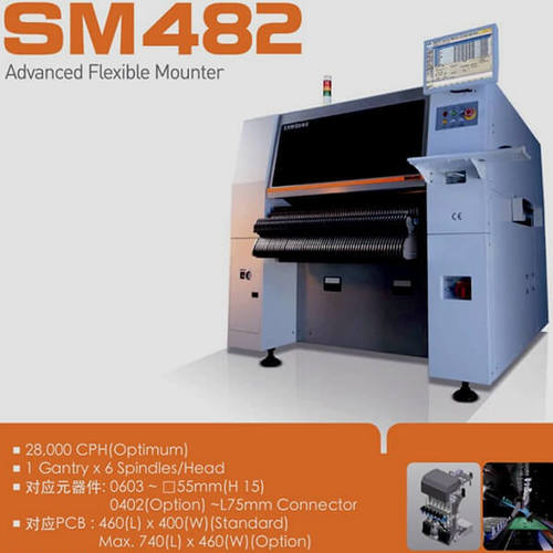Samsung SM482 Pick and Place Machine