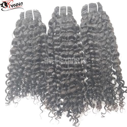 Grade 9a Virgin Curly 100% Virgin 100% Brazilian Human Hair
