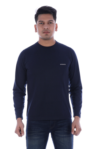 NORWOOD Men's Round Neck Full-sleeve T-shirt