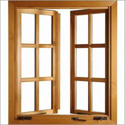Glass Wooden Frame
