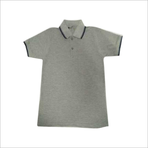 Half Sleeve School Grey TShirt