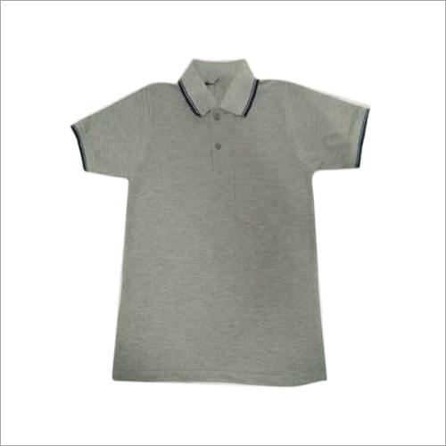 Half Sleeve School Grey TShirt