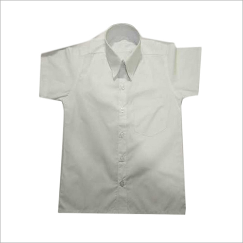 Half Sleeve Mens School Shirt