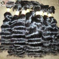 Grade 9a Virgin Bulk Cheap 100% Virgin 100% Brazilian Human Hair