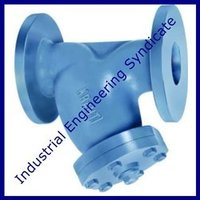 Cast iron y type strainer