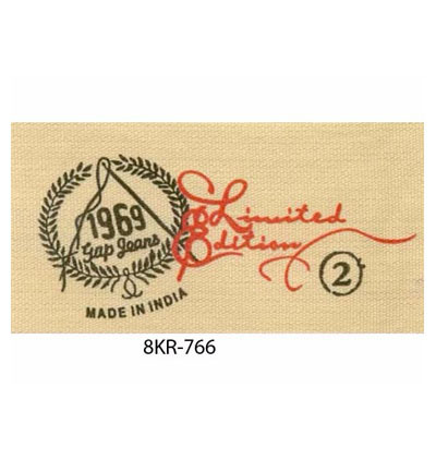 Designer Cotton Printed Labels