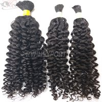 Grade 9a Virgin Bulk Curly Cheap 100% Virgin 100% Brazilian Human Hair