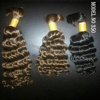 Grade 9a Virgin Bulk Curly Cheap 100% Virgin 100% Brazilian Human Hair