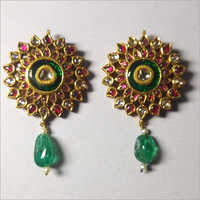 Antique Kundan Ear Tops