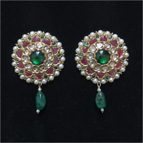 Kundan Fancy Ear Tops