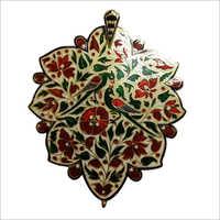 Kundan Meena Pendant