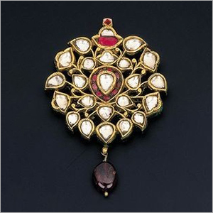 Kundan Meena Designer Pendant