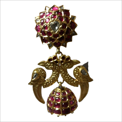 Designer Jhumka Earrings Set