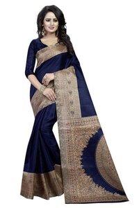 Kalamkari Design Bhagalpuri Saree