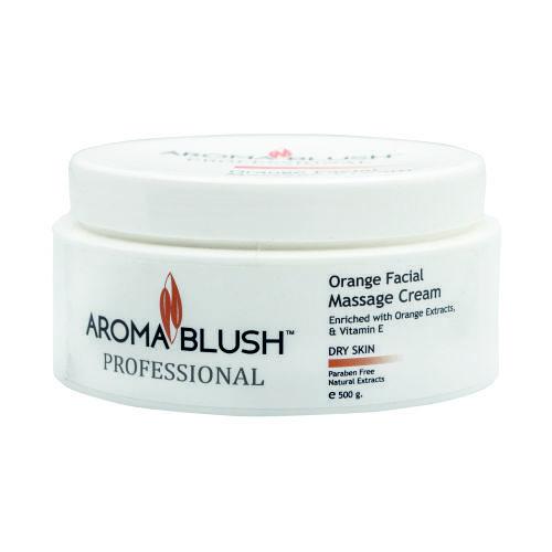 Orange Face Massage Cream