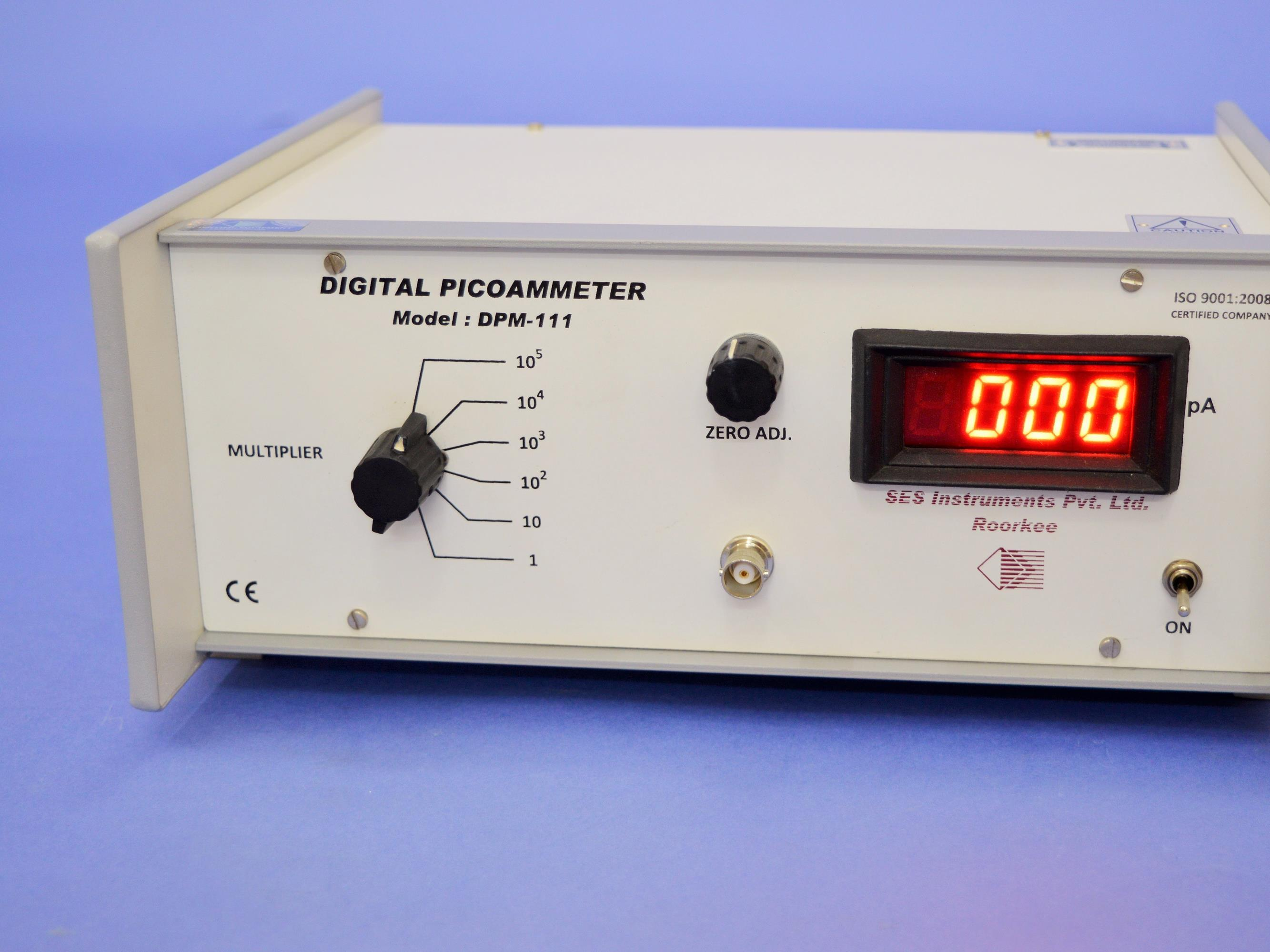 Digital Picoammeter, DPM-111
