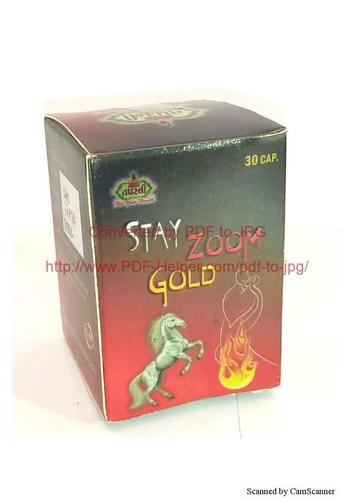 stay zoom gold capsule