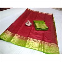 Printed Kanchipuram Saree