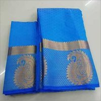 Poly Jacquard Silk Kanchipuram Saree