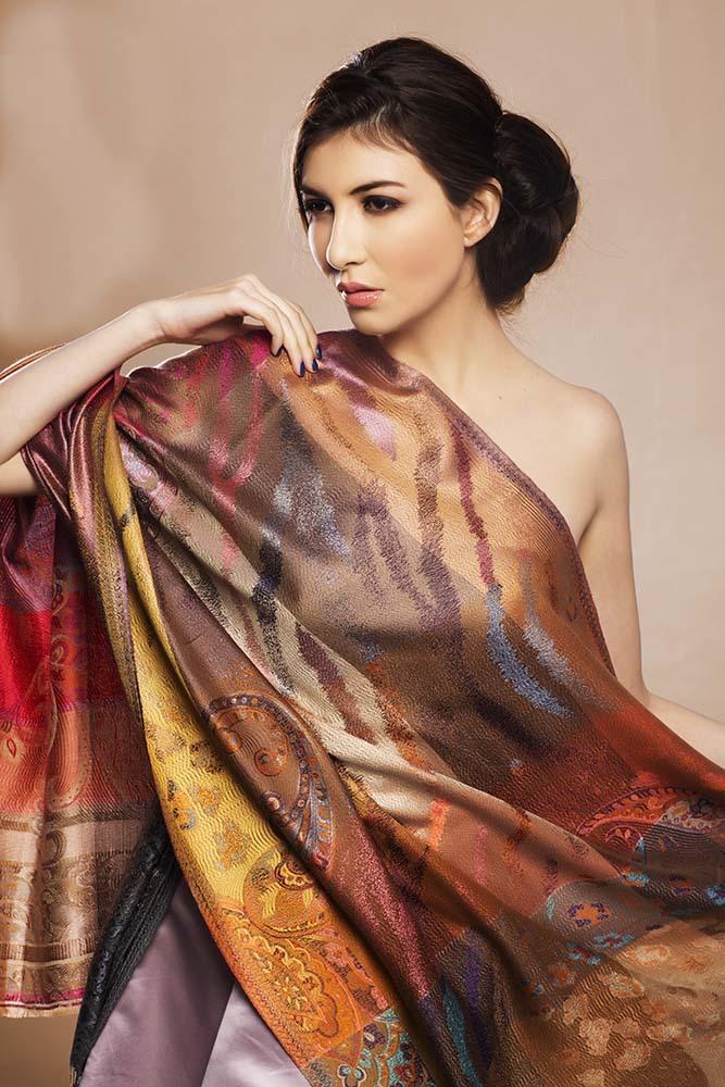 Ladies Silk Scarves