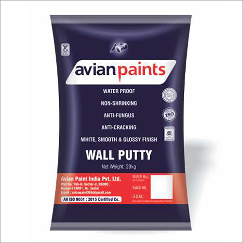 Waterproof Wall Putty