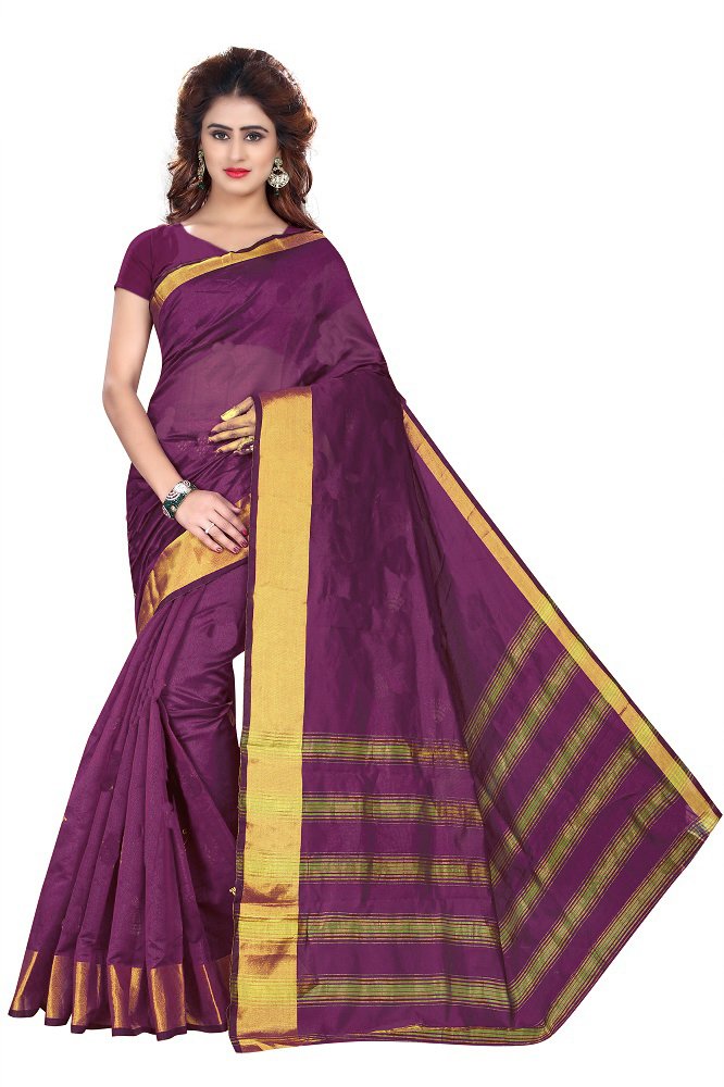 New Soft Cotton Silk Saree