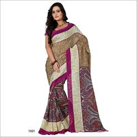 Silk Cotton Jacquard Saree