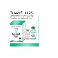 Ceftriaxone Sodium & Tazobactam Sodium Injection