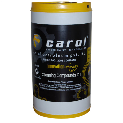 Cleaning Compounds Oil