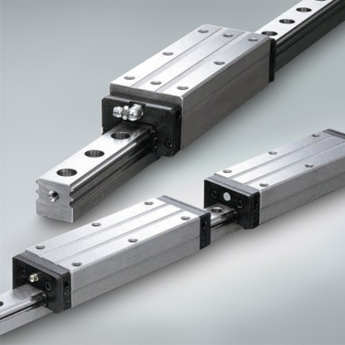 Linear Motion Carriages & Guide with Rail