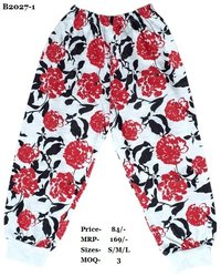 Kids Pajamas - Flower Design - 3 colours