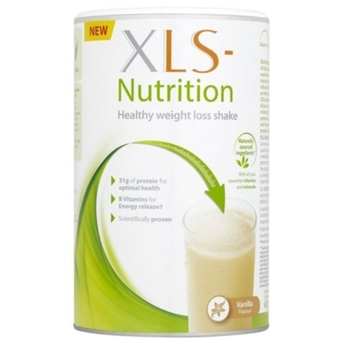 XLS-Nutrition Meal Replacement Shake, 10-Portions, Vanilla
