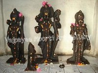 Black Marble Ram Darbar Statue