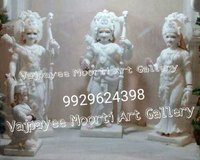 Pure Marble Ram Darbar Statue