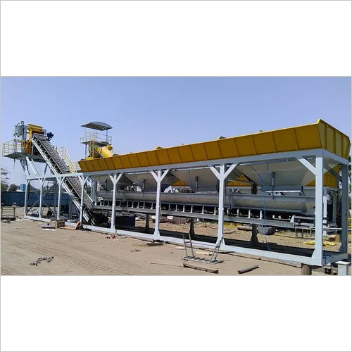 Wet Type Concrete Batching Plant