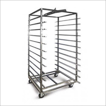 SS Oven Trolley