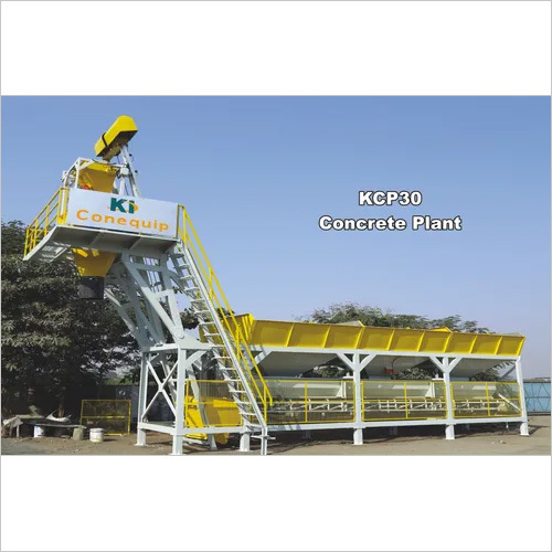 Mobile Concrete Mixing Plant