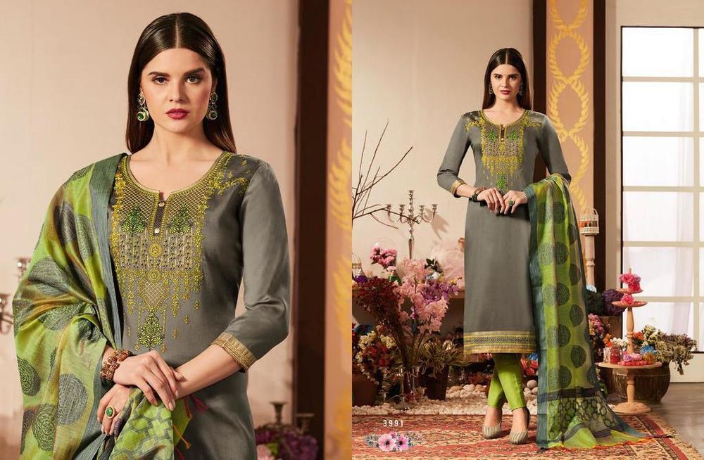 Cotton Silk Salwar Kameez