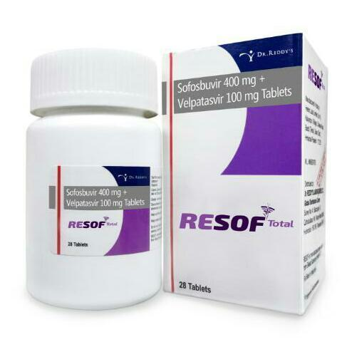 Resof Total Sofosbuvir 400Mg And Velpatasvir 100Mg