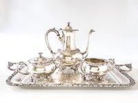 Vintage Silver Plate Tea Set
