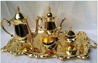 43 Wonderful Of Gold Plated Tea Set