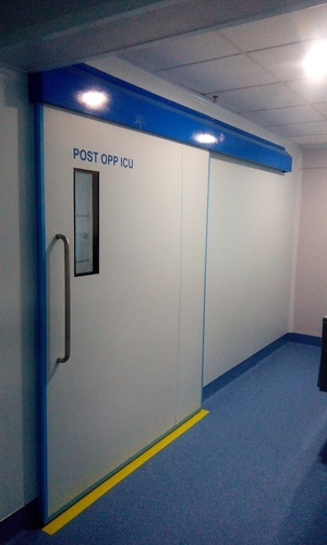 HPL semi automatic Sliding door