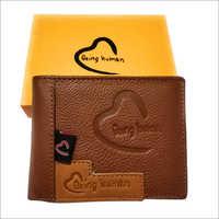 Men's Custom Leather Wallet