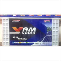 40 AH Solar Tubular Battery