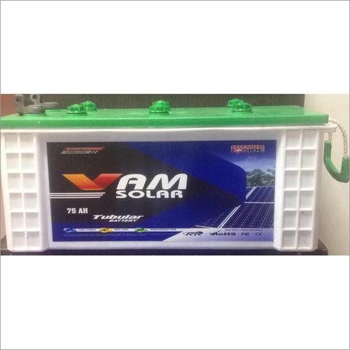 75 AH Solar Tubular Battery