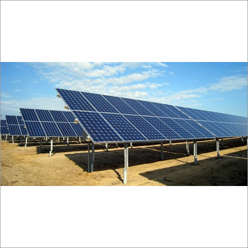Ground Mounted Solar System