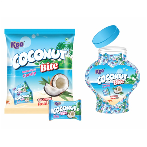 Coconut Center Filled Flavoured Candy