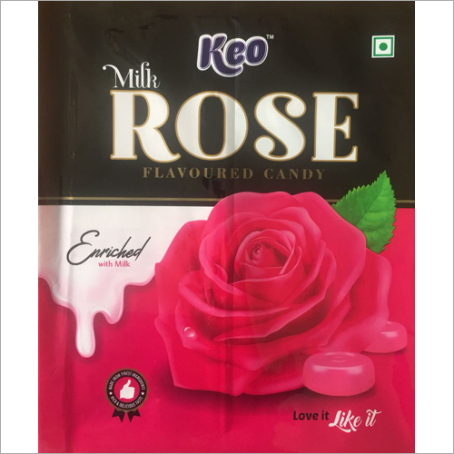 Milk Rose Flavoured Candy