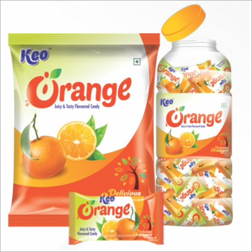 Orange Flavoured Candy