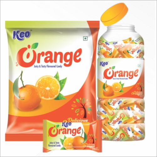 Orange Flavoured Candy